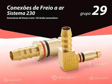 Conexões de Freio a ar Sistema 230