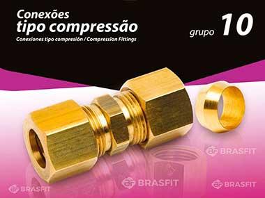Conexões tipo compressão